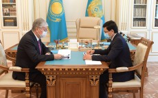 The Head of State receives Minister of Education and Science Askhat Aimagambetov